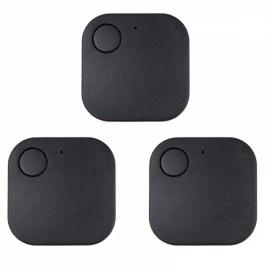 3Pcs Smart GPS Locator Anti-lost Device Bluetooth V4.0 Item Finder Tracker Black