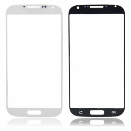 LCD Screen Glass Lens with Sense Line for Samsung S4 I9500 / 9505 / I337 / I545 White