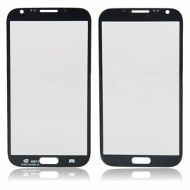 LCD Screen Glass Lens with Sense Line for Samsung NOTE 2 N7100 Black