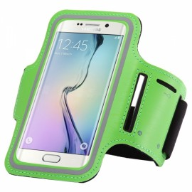 Armband Case for Samsung Galaxy S7 Edge Running Pouch Case Cover Green