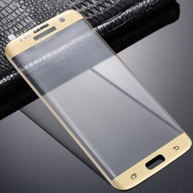 9H Tempered Glass Screen Protector Film 3D Curved for Samsung Galaxy S8 Plus Golden