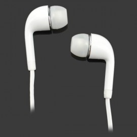 3.5mm In-Ear Headset Earbuds Earphone for Samsung Cellphone White