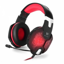 KOTION EACH G1000 Professional 3.5mm PC Gaming Bass Stereo Headset Gaming Headphone Black & Red