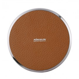 Nillkin Magic Disk III Qi Standard Wireless Charger for Samsung iPhone Huawei Brown