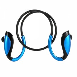X26 Wireless Stereo Bluetooth Headphone In-ear Sports Music Headset w/ Mic Blue