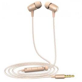 Original Huawei AM12 Plus In-Ear Earphones Built-in Mic Headphones Universal 3.5mm Jack Golden