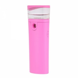 Nano Facial beauty Sprayer Portable Vaporizer Facial Skin Hydrating Water Face Steamer Pink