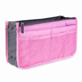 Large Travel Toiletry Organizer Storage Bag Wash Cosmetic Bag Makeup Storage Bag Pink