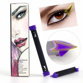 3Pcs/Set Cat Eye Wing Eyeliner Stamp Cream Brush Tool Easy to Makeup - Medium Size
