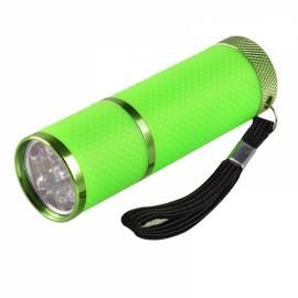 Portable Mini LED Nail Dryer Curing Lamp Flashlight Torch for UV Gel Nail Polish Green