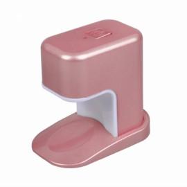 Portable 3W Mini LED UV Lamp Nail Dryer USB Charging Single Finger Nail Dryer Polish Light Manicure Machine Pink