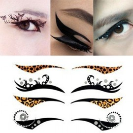 4-in-1 Sexy Fashionable Tattoo Eyelid Transfer Eyeliner Sticker HSB 019
