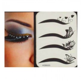 4-in-1 Sexy Fashionable Tattoo Eyelid Transfer Eyeliner Sticker HSB 005