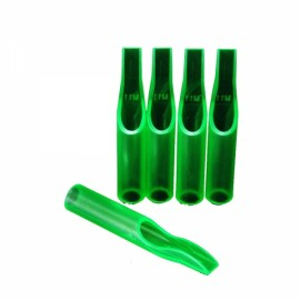 50pcs Box Packaged Disposable Tattoo Tips 11FT Green