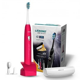 Lebond Rechargeable Sonic Electric Toothbrush M1 Series Red