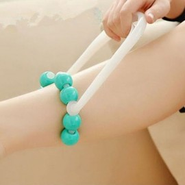 8-Rolling Bead Bodycare Leg Massager Green