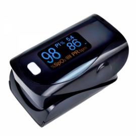 UltraFire OLED SPO2 PR Heart Rate Monitor Screen Fingertip Pulse Oximeter - Black