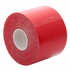 Health Caring High Elasticity Breathable Adhesive Athletic Tape Red