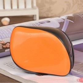 Magic Salon Styling Tamer Tool Professional Hair Care Massage Comb Orange