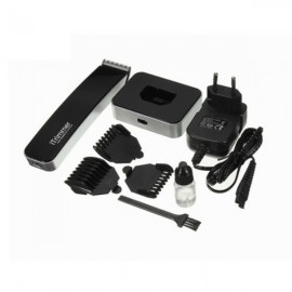 Pritech PR-1288 Electric Hair Clipper Sideburns Trimmer Razor 220V Black