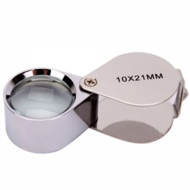 10X 21MM Jewellery Identifying Magnifier Loupe Magnifiying Glass