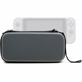 EVA Waterproof Hard Shield Nintendo Switch Carrying Case - Silver