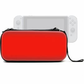 EVA Waterproof Hard Shield Nintendo Switch Carrying Case - Red