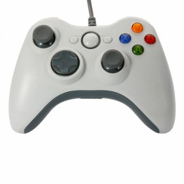 USB Wired Controller for Windows PC White
