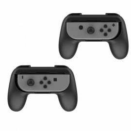 2 Pack For Nintendo Switch Joy-Con Handle Controller Grip Gaming Handheld Holder -Black&Black