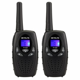 2pcs Retevis RT628 Walkie Talkie UHF 22CH Two-Way Radio-Black
