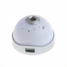 Romantic Starry Sky LED Projection Alarm Clock