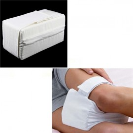 Knee Ease Pillow Cushion Comforts Bed Sleeping Separate Back Leg Pain Support