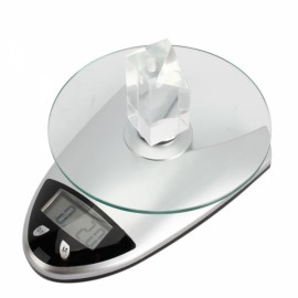 High Precision Kitchen Scale LCD Display Digital Scale - Silver