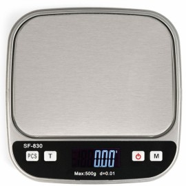 SF-830 500g/0.01g Mini Digital Jewelry Scale White & Black