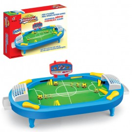 Tabletop Soccer Board Game for 2 Players Desktop Football Shoot Toys for Parent- Kids Interactive Indoor Sport Toys